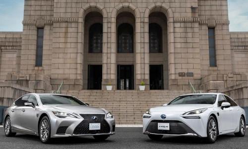 New Toyota vehicles.